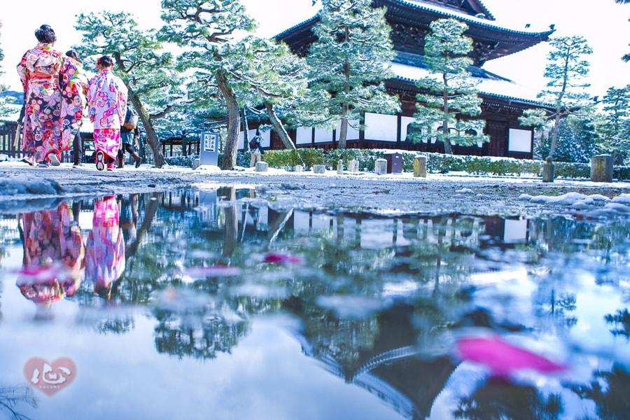 京都雪景色巡り~祇園・岡崎・嵐山~
