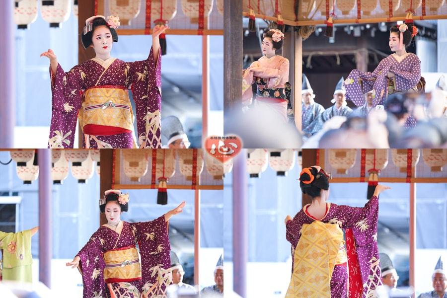 八坂神社の節分祭+゚*。:゚+舞妓さんの舞踊奉納と豆まき+゚:。*+