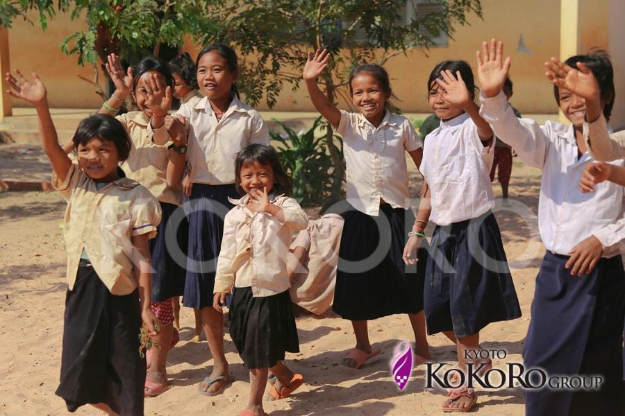 カンボジア小学校建設プロジェクト