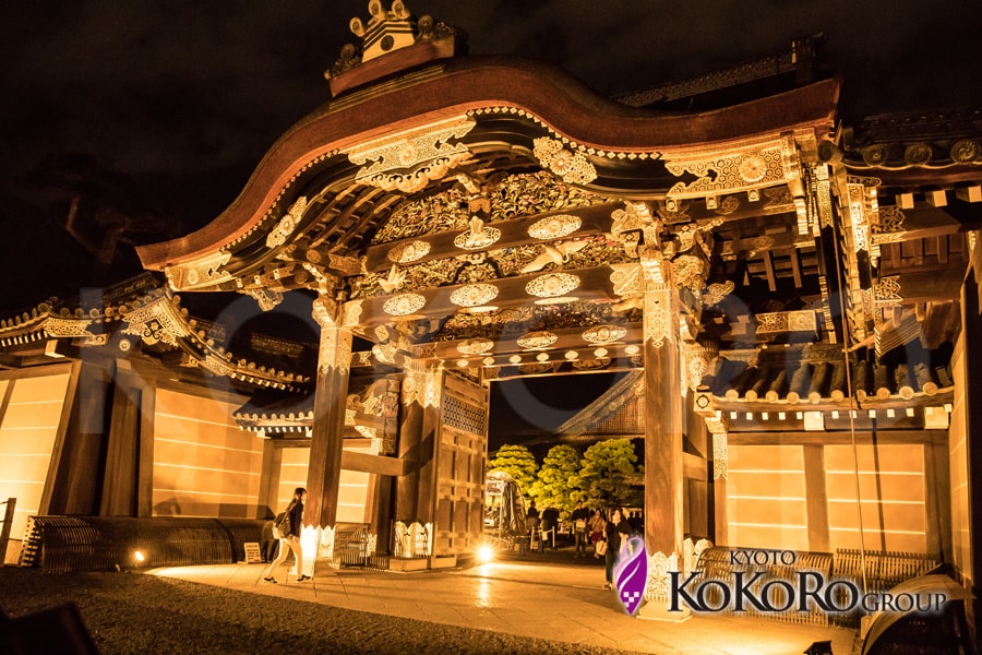 京都・秋の特別拝観~二条城ライトアップ~大政奉還150周年プロジェクト