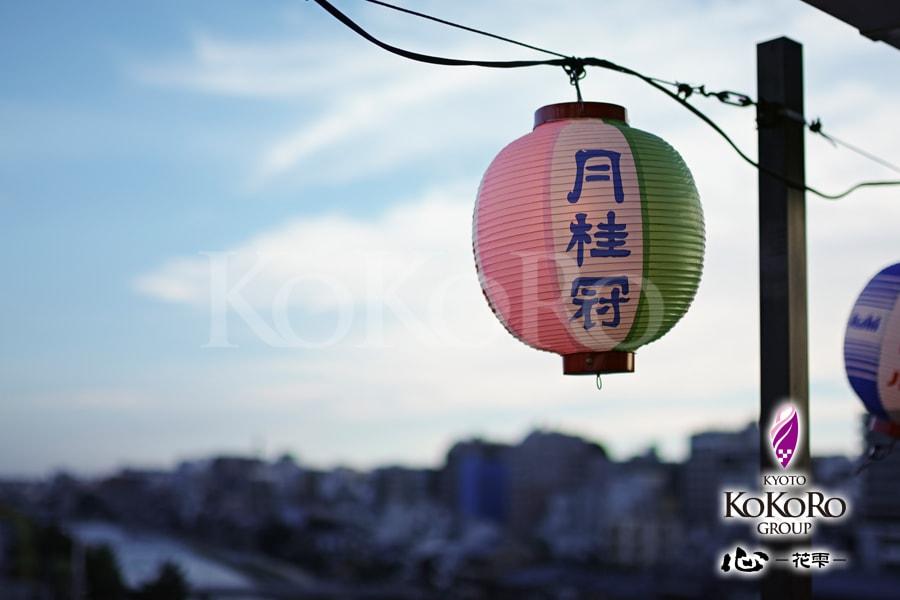夏の鴨川~夜の京都