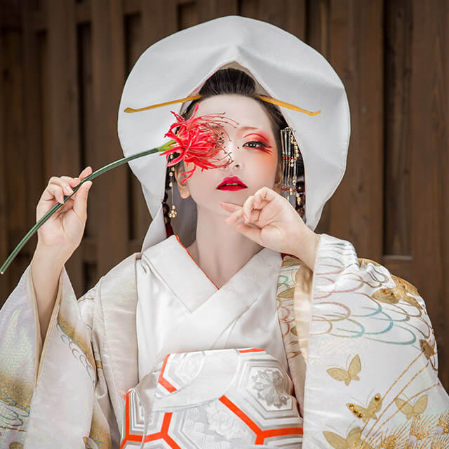 京都 狐の嫁入り