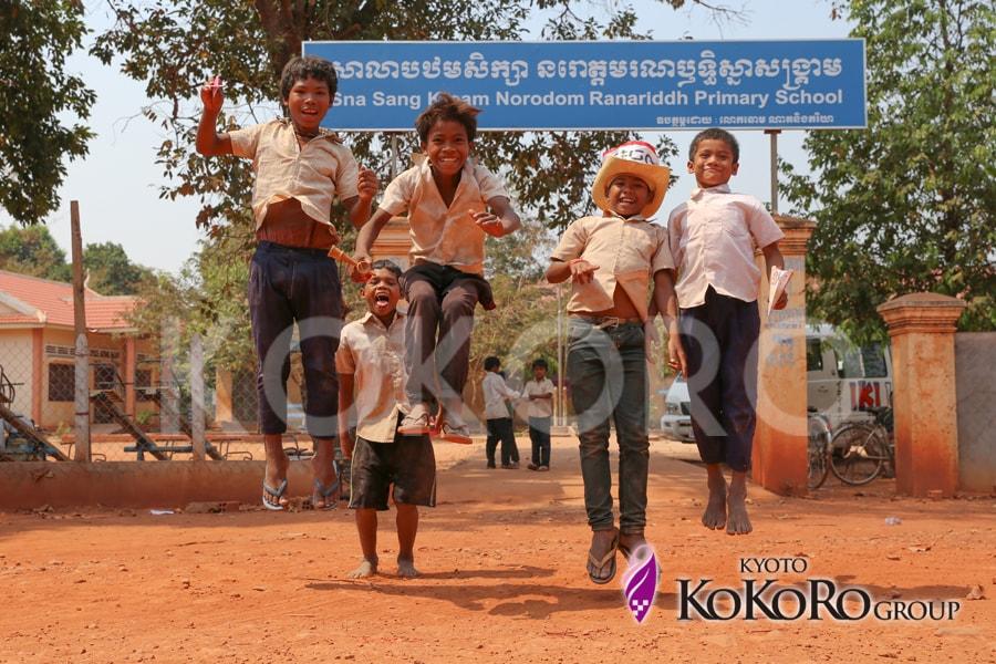 カンボジア小学校建設