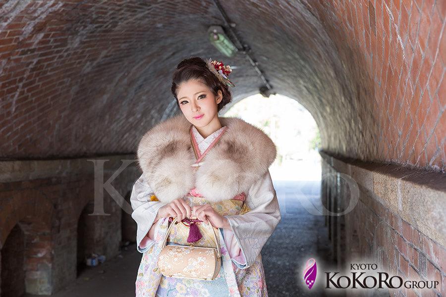 京都みやこめっせ 成人式撮影